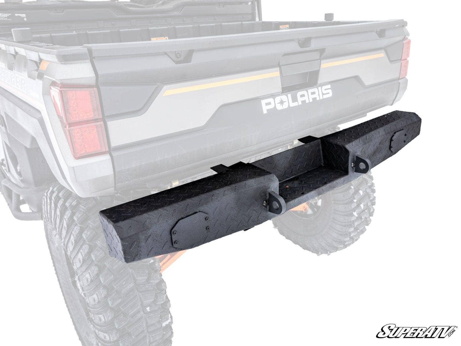 Bumpers Crew/Diesel Wrinkle Black SuperATV Heavy Duty Rear Bumper ...