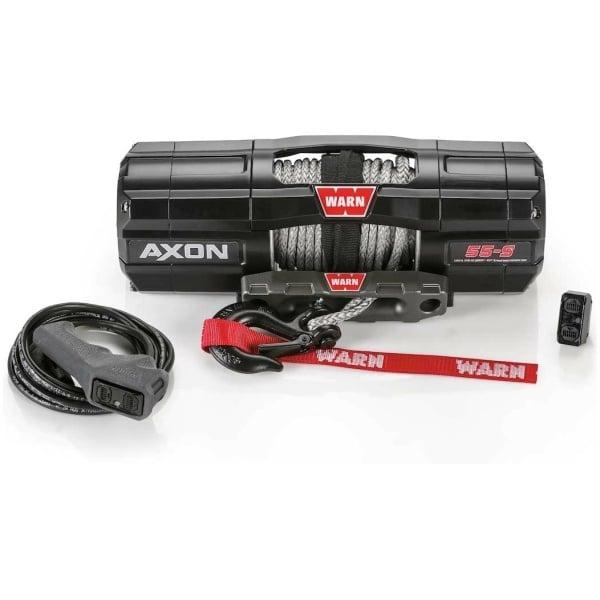 Warn Axon 55-S 5,500 LB Synthetic Powersport Winch