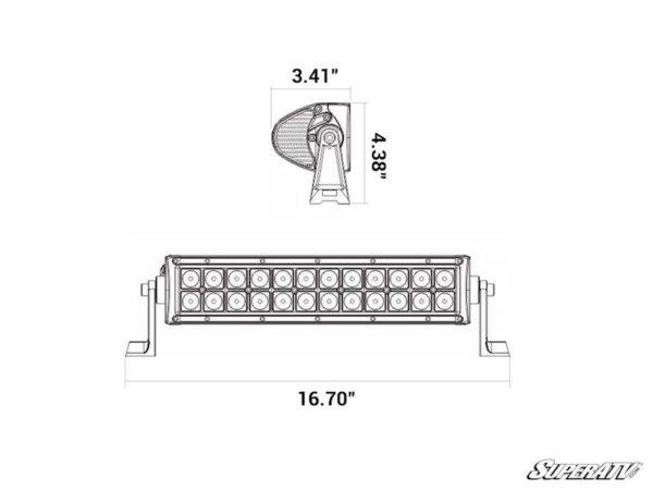 "SuperATV 12"" LED Combination Spot/Flood Light Bar"