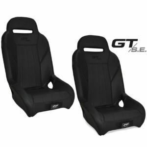 PRP Seats (Set of 2) Front Bucket GT/SE Black Polaris RZR 900 XP 1000 Turbo S/TRAIL UTV
