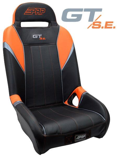 PRP GT S.E. RZR 1000 Aftermarket Seat - Titanium Matte Metallic