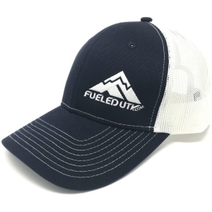 Fueled UTV Snapback Trucker Cap - Navy/White