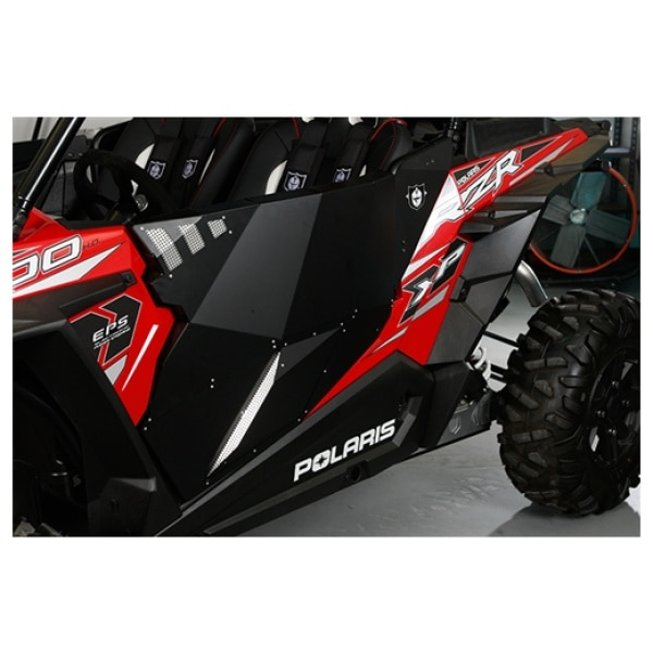 Pair Pro Armor RZR XP1000 Black Aluminum Stealth Door P141228RBL