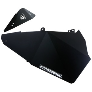 PRO ARMOR ALUMINUM LOWER DOOR INSERTS POLARIS RZR XP 1000 / TURBO 2014-2018