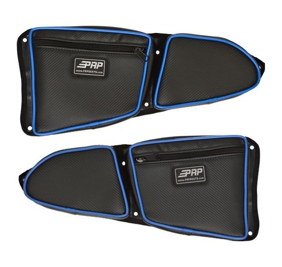 PRP Stock Door Bag Set with Knee Pad for Polaris RZR (Pair)