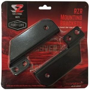 Seizmik RZR 900s/1000 Pursuit Mirror Mounts