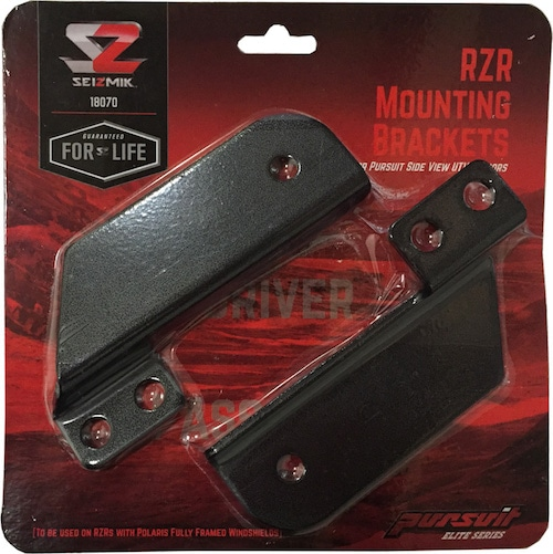 Seizmik RZR 900s/1000 Pursuit Mirror Mounts