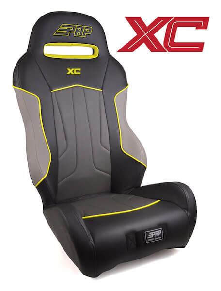 PRP XC RZR 1000 Aftermarket Seat - Titanium Matte Metallic