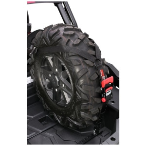SpeedStrap Single RZR XP 1000 Spare Tire Hold Down Upright Kit