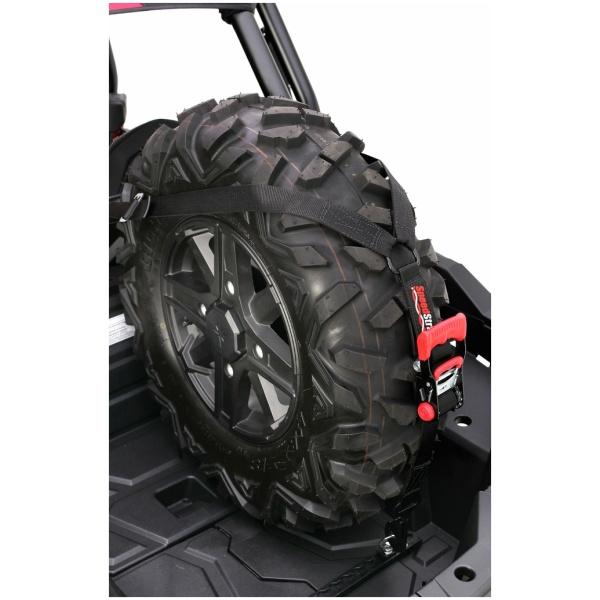 SpeedStrap Single RZR XP 1000 Spare Tire Hold Down Upright Kit