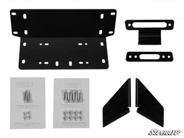 SuperATV Kawasaki Teryx 4 Winch Mounting Plate