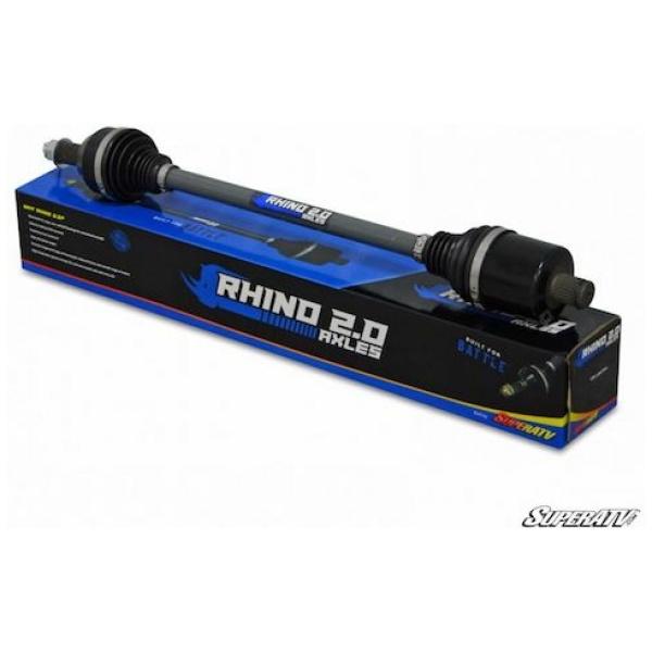SuperATV Rhino 2.0 Polaris RZR XP TURBO Heavy Duty Axles
