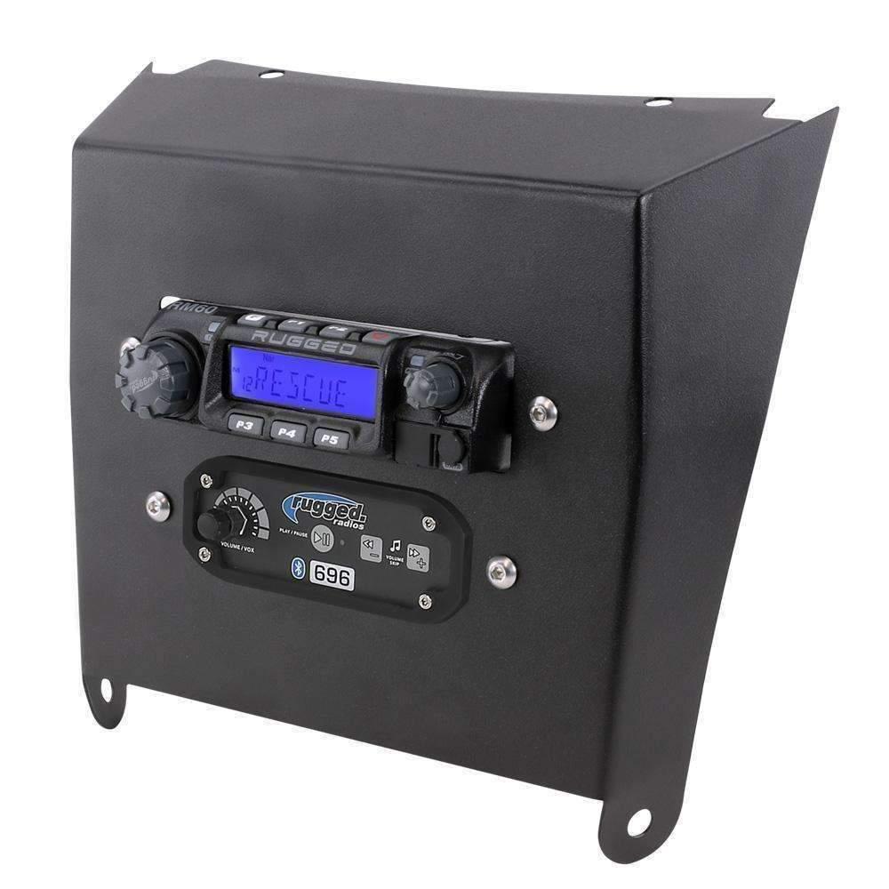 Rugged Radios Kawasaki KRX Mount for RM60 Radio & Intercom