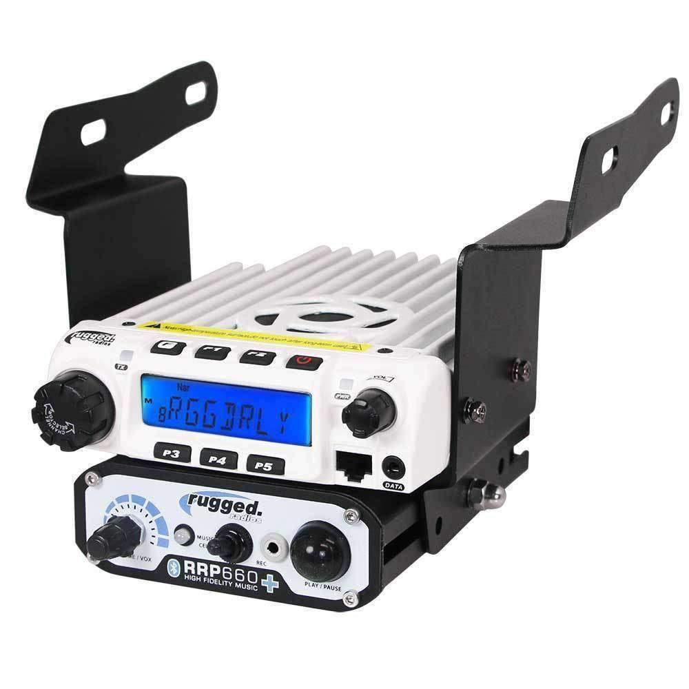 Rugged Radios Polaris RZR 570, 800, 900 Mount for RM60 Radio & Intercom