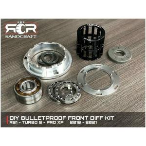 Sandcraft DIY GEN 2 Bulletproof Front Diff Kit – Polaris RS1/Turbo S/Pro XP